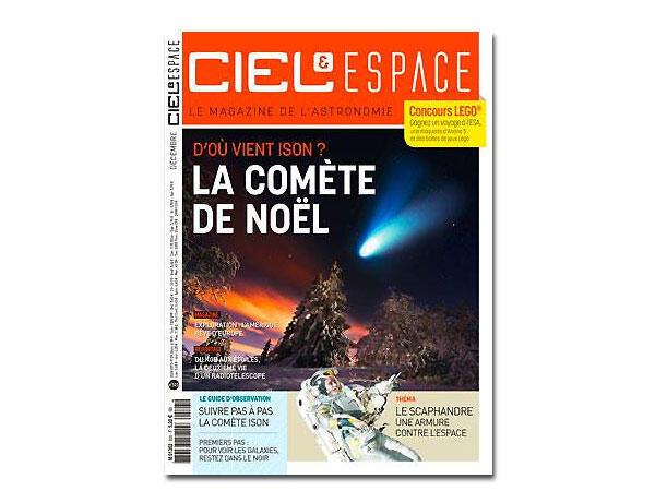 Ciel et espace, décembre 2013.