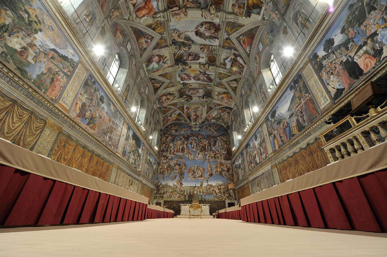 Сикстинская капелла, Ватикан, 12 марта 2013 года