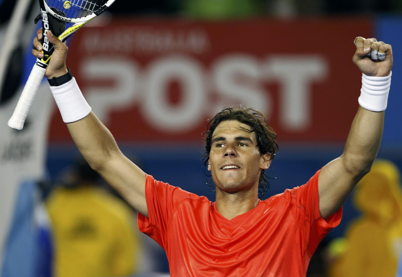 O espanhol Rafael Nadal derrotou o croata Marin Cilic no torneio Aberto da Austrália.
