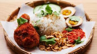 Nasi Lemak avec poulet frit - Le goût du monde 27 février 2021