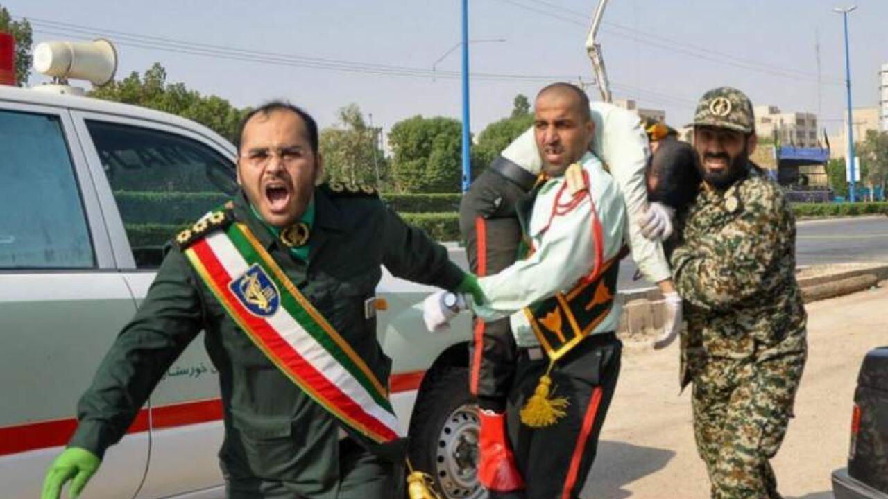 حمله به رژه نیروهای مسلح جمهوری اسلامی در شهریورماه سال ۹۷ در اهواز