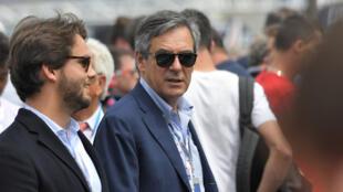 François Fillon, photographié le 16 juin dernier lors des 24 heures du Mans, course de voitures organisée chaque année dans la ville du même nom.