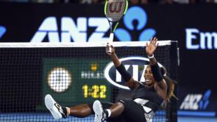 Serena Williams a remporté à Melbourne, le 28 janvier 2017, le 23e titre de sa carrière en grand Chelem.
