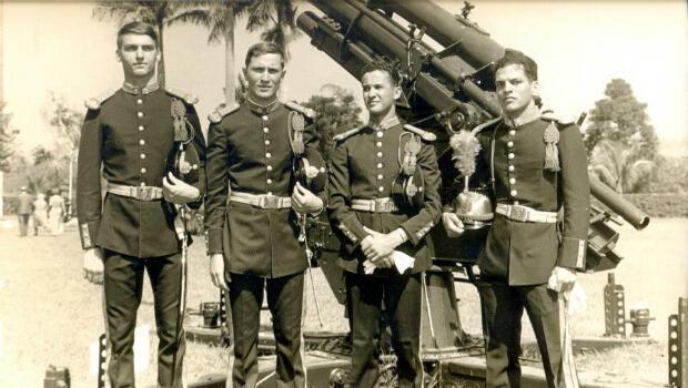 Jair Bolsonaro cuando era capitan del Ejército en 1977