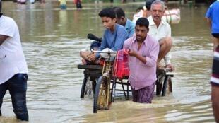 Inundações na Índia