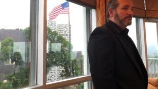 倾力支持国会通过香港人权和民主法案的美国共和党联邦参议院克鲁兹(Ted Cruz)12日访港一天