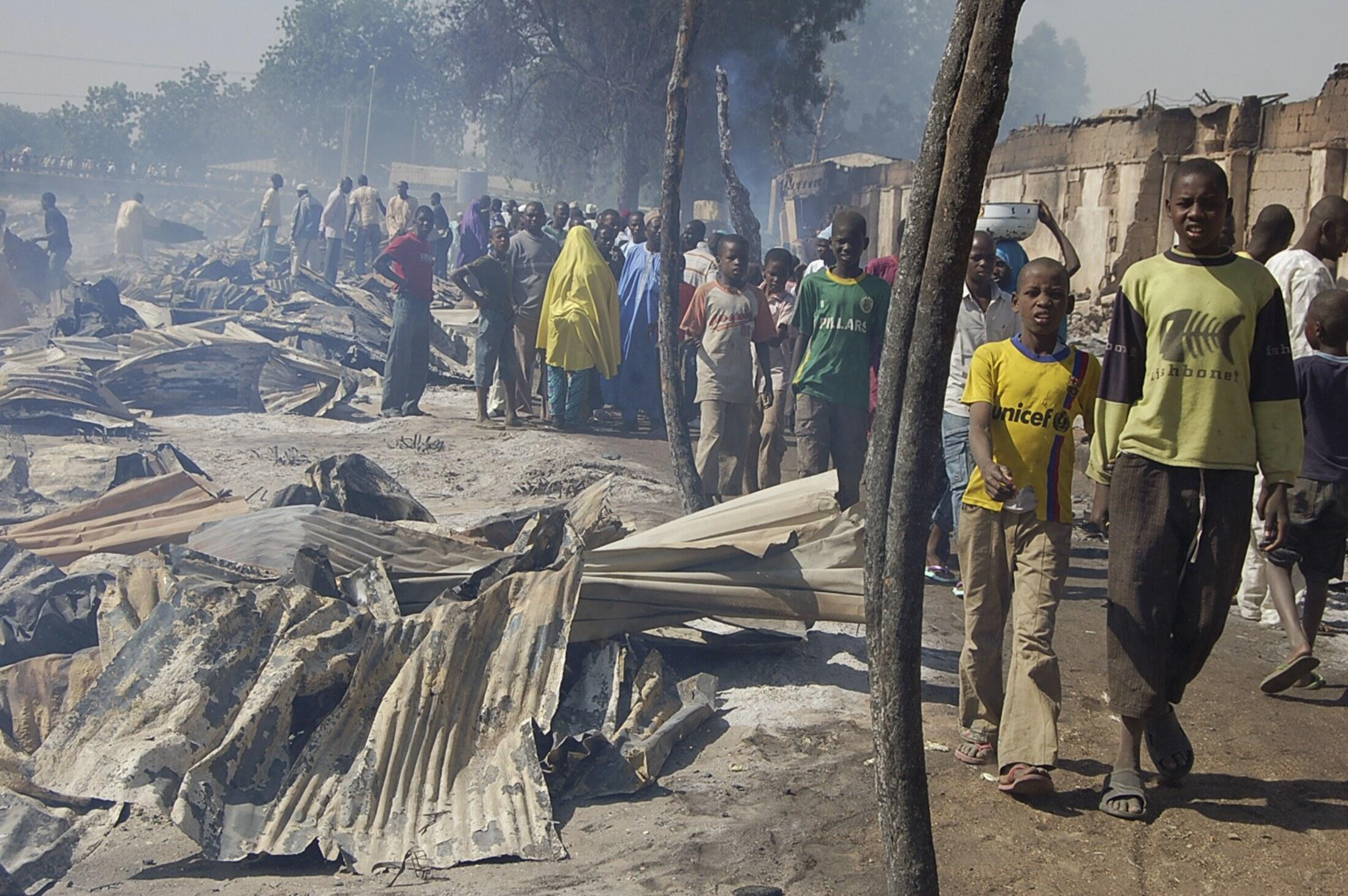 Barazanar Satar Shanu da hare haren Boko Haram ya sa aka rufe kasuwannin cinikin Dabbobi a Borno