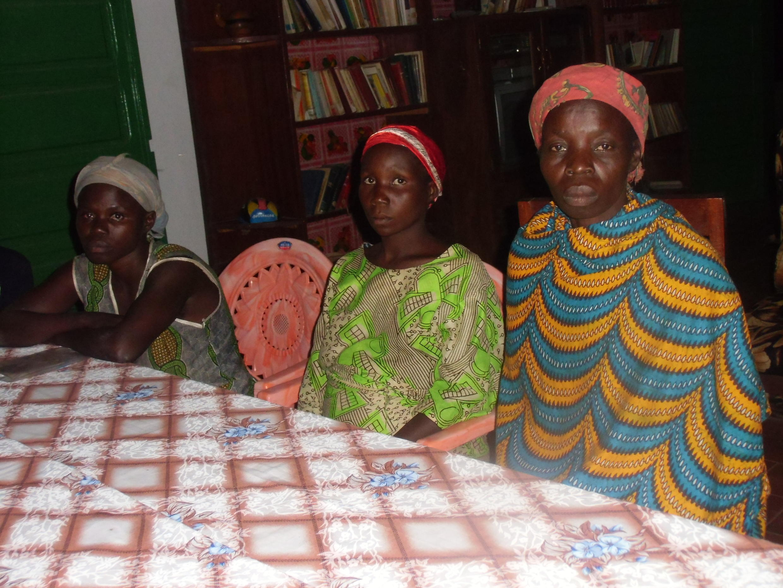 Victimes des crimes de la Seleka.