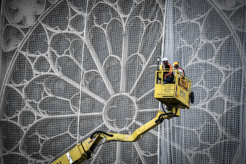Até o momento, todos os trabalhos realizados na Catedral de Notre-Dame servem de preparação para a reconstrução.
