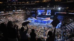 美国民主党费城代表大会会场
