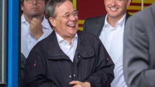 德国基民盟主席拉舍特资料图片