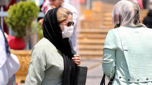 Iran has launched a campaign to encourage people to wear masks after an uptick in new coronavirus cases