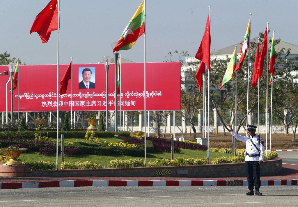 Birmanie - Chine - Xi Jinping