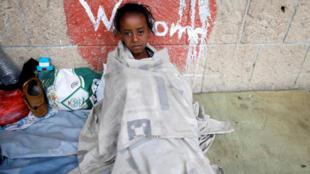 Tám triệu dân Yemen, trong đó có 5 triệu trẻ em, bị đói và 21 triệu người đang cần trợ giúp nhân đạo khẩn cấp. Ảnh minh họa.