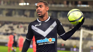 O atacante Malcom, do Bordeaux.