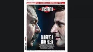 Na resenha da imprensa, os jornais destacam a queda de braço entre o governo francês e os trabalhadores, que paralisam o país nesta quinta-feira com uma greve contra a Reforma da Previdência.