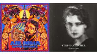 "David Sztanke ""Air India"" (Entreprise) et Stephan Eicher ""Homeless Songs"" (Polydor)."