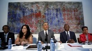 دیدار باراک اوباما، رئیس جمهوری آمریکا، با مخالفان رژیم کوبا، سه شنبه ٢٢ مارس ٢٠١٦ / ٣ فروردین ١٣٩٥