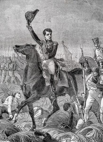 El general Charles-Étienne Gudin de la Sablonnière, por Henri Félix Emmanuel Philippoteaux.