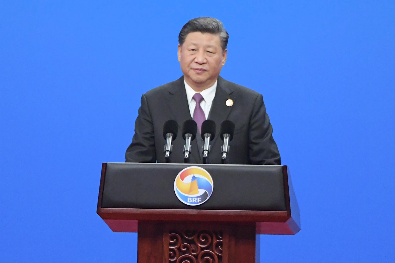 O presidente chinês Xi Jinping, em abrilde 2019