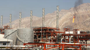 The South Pars gas field facilities in the southern Iranian port town of Assaluyeh