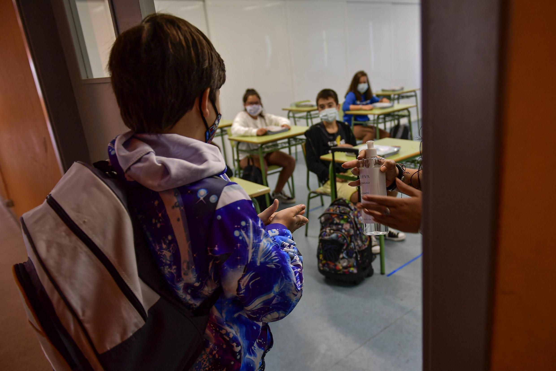 En Espagne, la rentrée scolaire se fait par région.