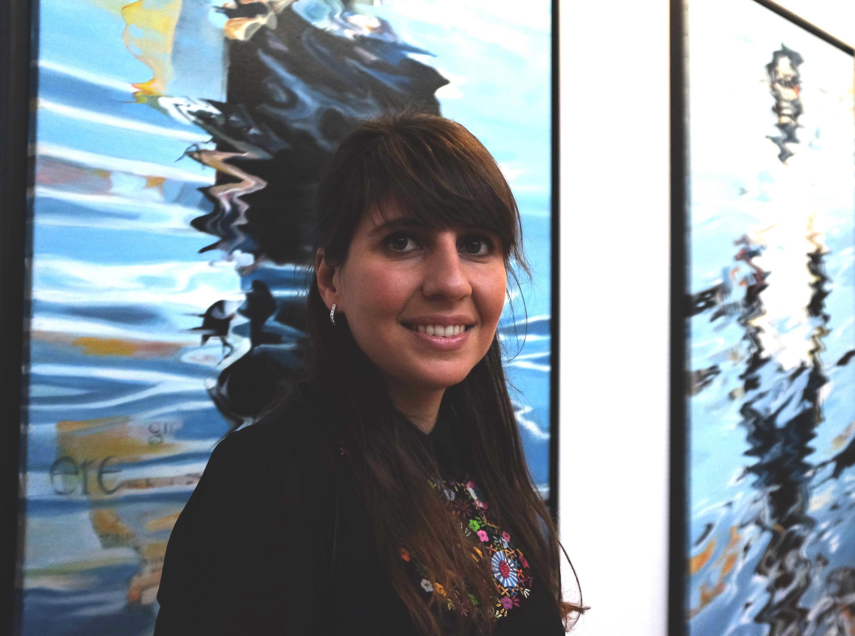Victoria Mann, la fondatrice et directrice de la première foire d'art contemporain centrée sur l'Afrique à Paris, Akaa.