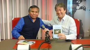 Porfirio Mamani y Jordi Batallé en RFI