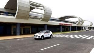 Vue générale du nouvel aéroport Blaise-Diagne à Dakar.