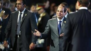 Egyptian President Abdel Fattah al-Sisi, Sharm el-Sheikh, 15 March 2015.