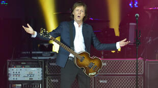 Paul McCartney au Stade de France.