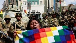 Protestos continuam nas ruas da Bolívia, com um número crescente de partidários de Evo Morales manifestando.