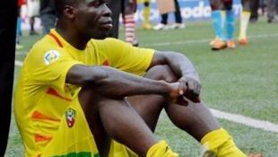 Dan wasan Togo Salifou Mustapha.
