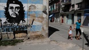 古巴哈瓦那街頭一景