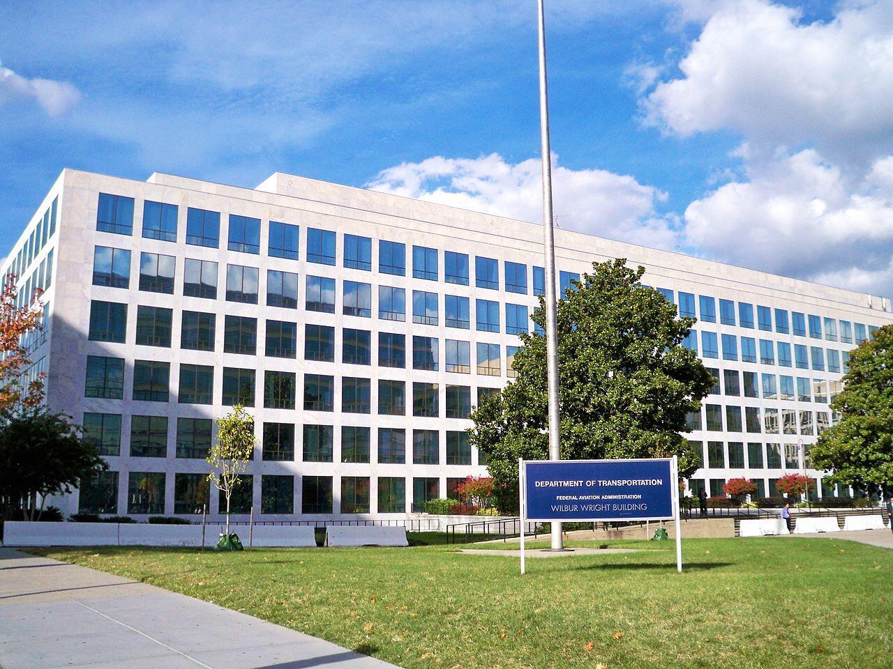 Trụ sở Cơ quan Hàng không Liên bang Mỹ FAA tại Washington, Hoa Kỳ.