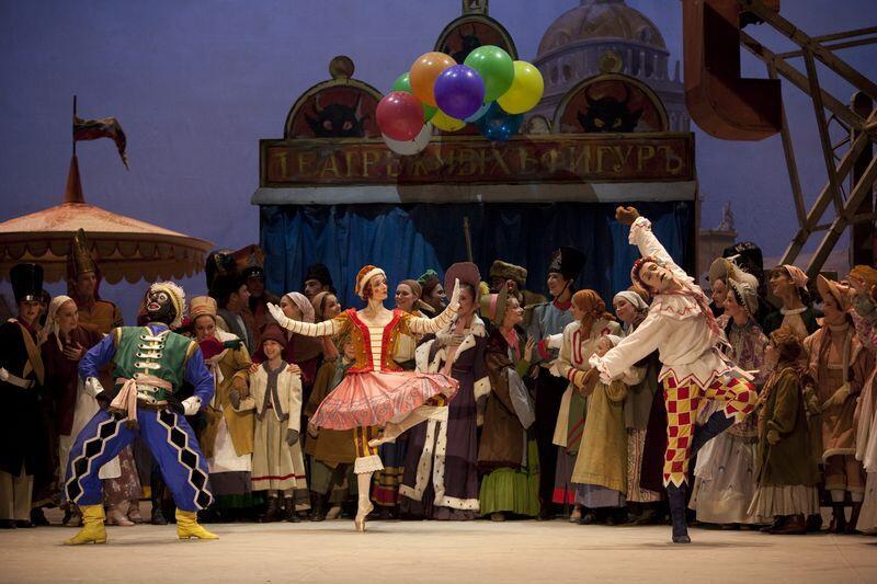 Tác giả Stravinsky tạo dựng được một ngôn ngữ âm nhạc mới cho vở múa Petruska - DR