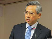Bộ trưởng Y tế từ nhiệm của Đài Loan Khâu Văn Đạt.
