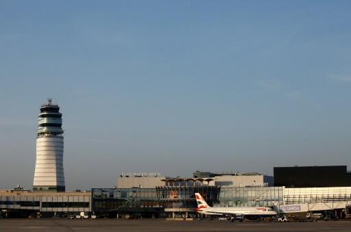 A file photo of Vienna airport in order to safely remove the device