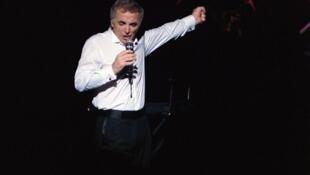 کنسرت شارل آزناوور در ٣۰ سپتامبر ۱۹۸۷ در پاریس