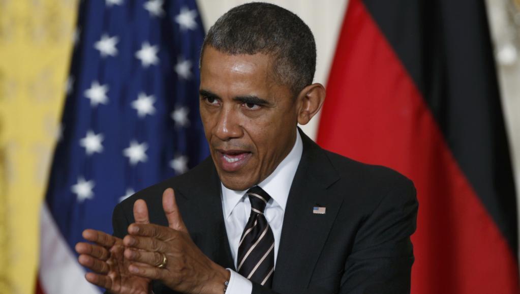 Rais wa Marekani Barack Obama akieleze kusononeshwa na tukio lililomtokea balozi wake katika mji mkuu wa Korea Kusini, Seoul.