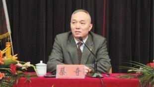 Chine CaiQi vice gouverneur de la province Zhejiang 蔡奇
