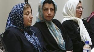 Narges Mohammadi, le 27 août 2007.