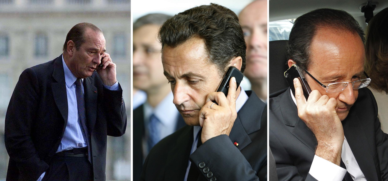 Revelações envolvem sobre Chirac, Sarkozy e Hollande.