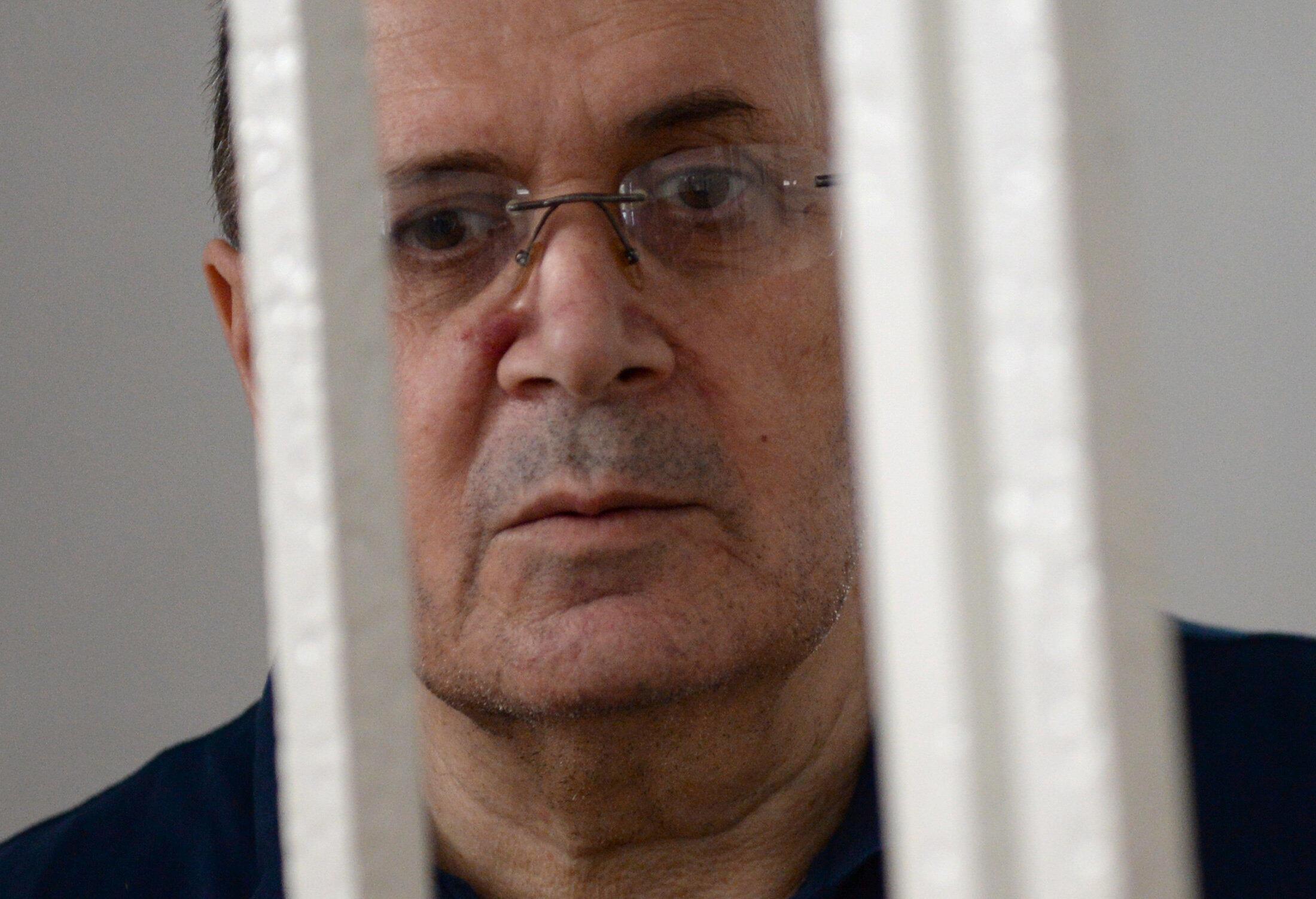 Правозащитник Оюб Титиев в суде 19 июля 2018
