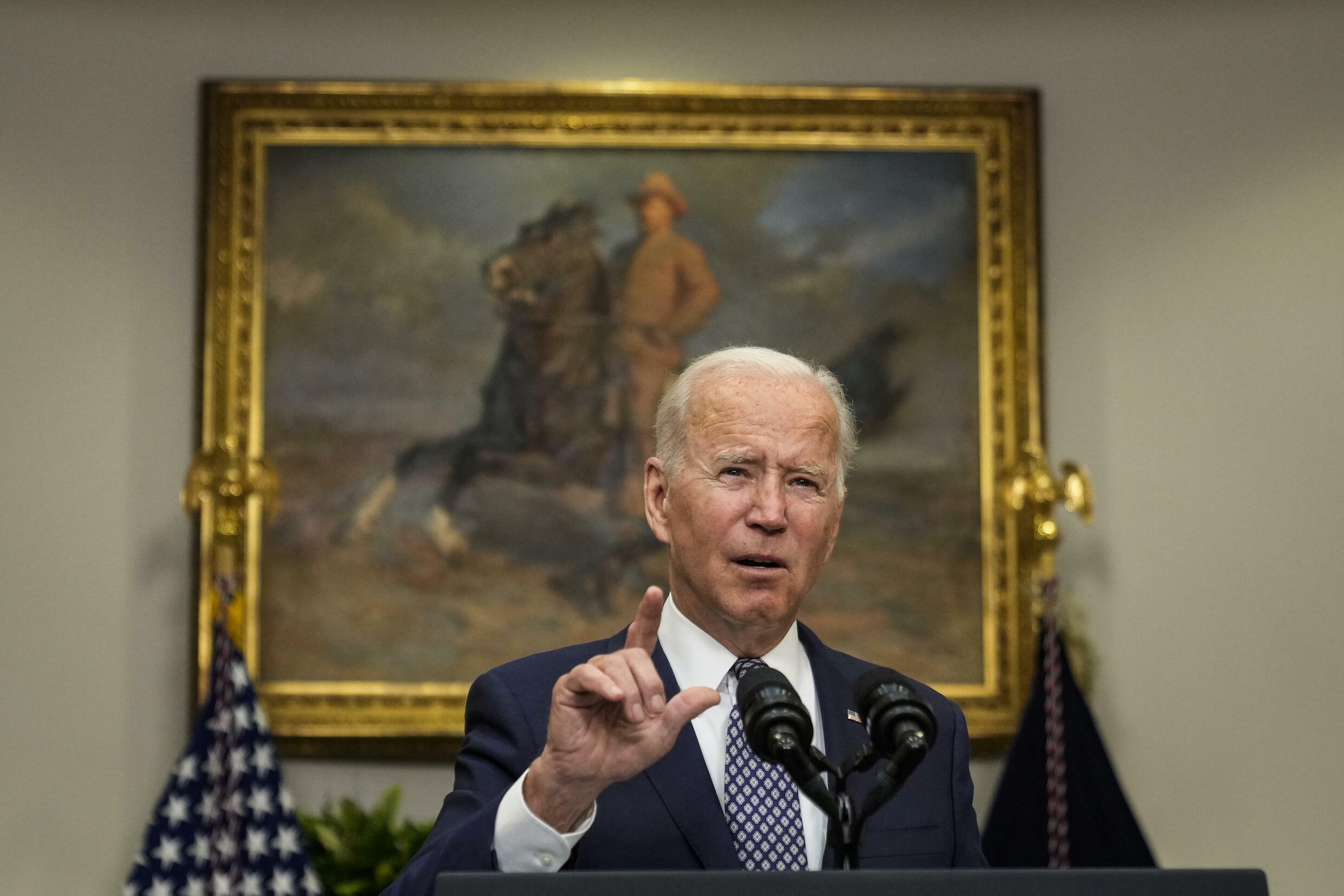 President Joe Biden is sticking to his August 31 deadline for the US withdrawal from Afghanistan