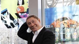Takeshi Kitano at the Fondation Cartier