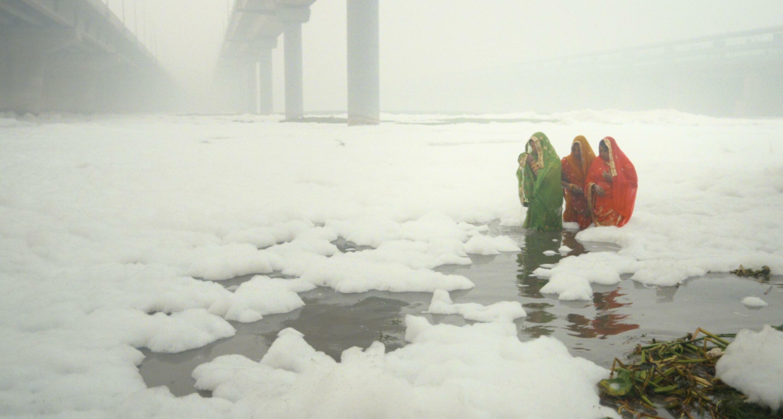 Scène de pollution à New Delhi dans « Invisible Demons », du réalisateur indien Rahul Jain, sélectionné pour « Le cinéma pour le climat » au Festival de Cannes 2021.  © Toinen Ktse Oy / Ma.Ja.De Filmproduktions Gbmh