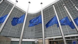 Siège de la Commission européenne à Bruxelles, le 17 novembre 2015.