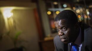 Daviz Simango, Líder do MDM. 13 de Outubro de 2014.