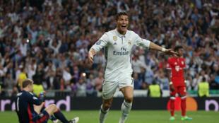 Na época passada Cristiano Ronaldo, avançado português do Real Madrid, apontou cinco golos ao Bayern de Munique.
